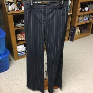 Body by Victoria Christie Fit size 8 striped pants